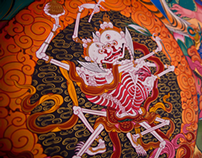 traditional chinese temple art
