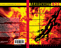Student Project: Fahrenheit 451 Paperback Cover