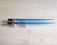 Lightsaber Chopsticks stand