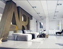3d visualization / interior design / old&new1