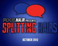 AXE Hair Experience Design- APPLE iAd, DirecTV & Xbox
