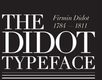 The Didot Typeface