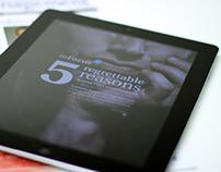 InFocus - Money Management iPad app