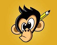 CReative monkey logo