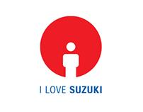 I Love Suzuki Website Re-Design