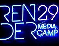 "Congreso: ""RENDER 29 MEDIA CAMP"""