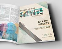 Typecon 2013 Ad Campaign