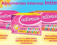 Anúncio Intimus - Absorvente Interno (trade).