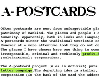 A-Postcards