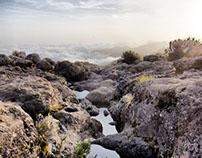Dusk on Kilimanjaro