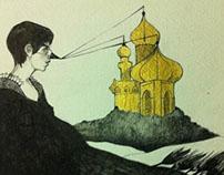 the golden part of russian dark fairy tales