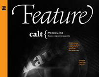Feature magazine