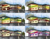 Реконструкция фасадов школ