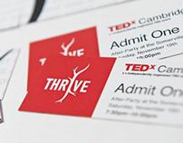 PRINT DESIGN - TEDxCambridge Tickets