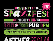 SPAZZFEST IV POSTERS