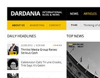 Dardania - News & blog Theme