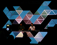 VISUALS AT FREE FORM FESTIVAL 2012