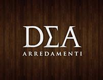 Dea Arredamenti Logo Proposals