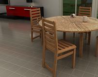 Furniture for MOBITEX 2009 (BRNO)