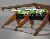 """""""Living"""" Room Hydroponic Coffee Table"""