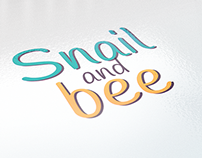 Characters. Bee & snail