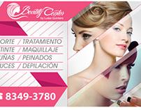 Beauty Center Window Vinyl