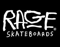 Rage Skateboards Logo