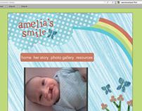 Amelia's Smile Website