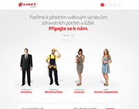 HR site for linet.cz