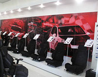 Recaro shop design