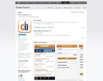 "CareerBuilder ""Jobs"" iOS App - 2008"