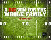 SHARP & The Superbowl Concept