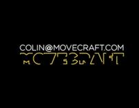Demo Reel 2010 -movecraft