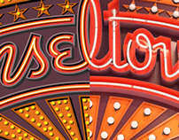 5 Logos for a Candy Emporium: Part #4 of 4 – Tinseltown