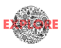 E-X-P-L-O-R-E // Branding