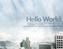 '' Hello World '' Virtual TV Show.