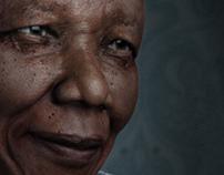 Nelson Mandela 3d portrait