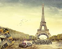 Zombilife.com.br - Torre Eiffel (Zombie)