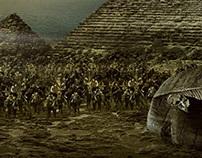 Zombilife.com.br - Egypt Pyramid (Zombie)