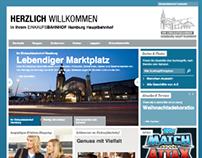 Einkaufsbahnhof | Launch Website