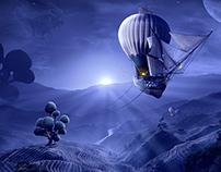 Moonrise - Desktopography 2012