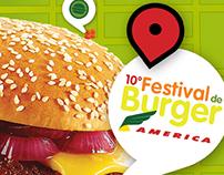 10º Festival de Burger Restaurante America