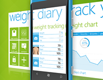 Weight Diary - Windows Phone Application