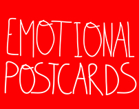 Emotional postcards