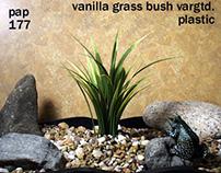 vanilla grass, plstc., 1012, ron beck designs