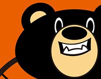 Gama Bears design/橘子熊電競隊吉祥物設計