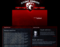 Stunt Forces Website Design