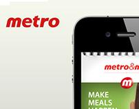 Metro App Pitch work
