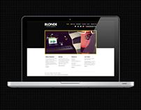 Blonde Audio Design Website