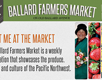 Ballard Farmers Market // Spec campaign